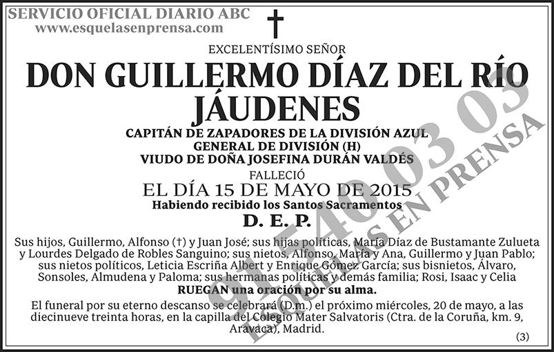 Guillermo Díaz del Río Jáudenes